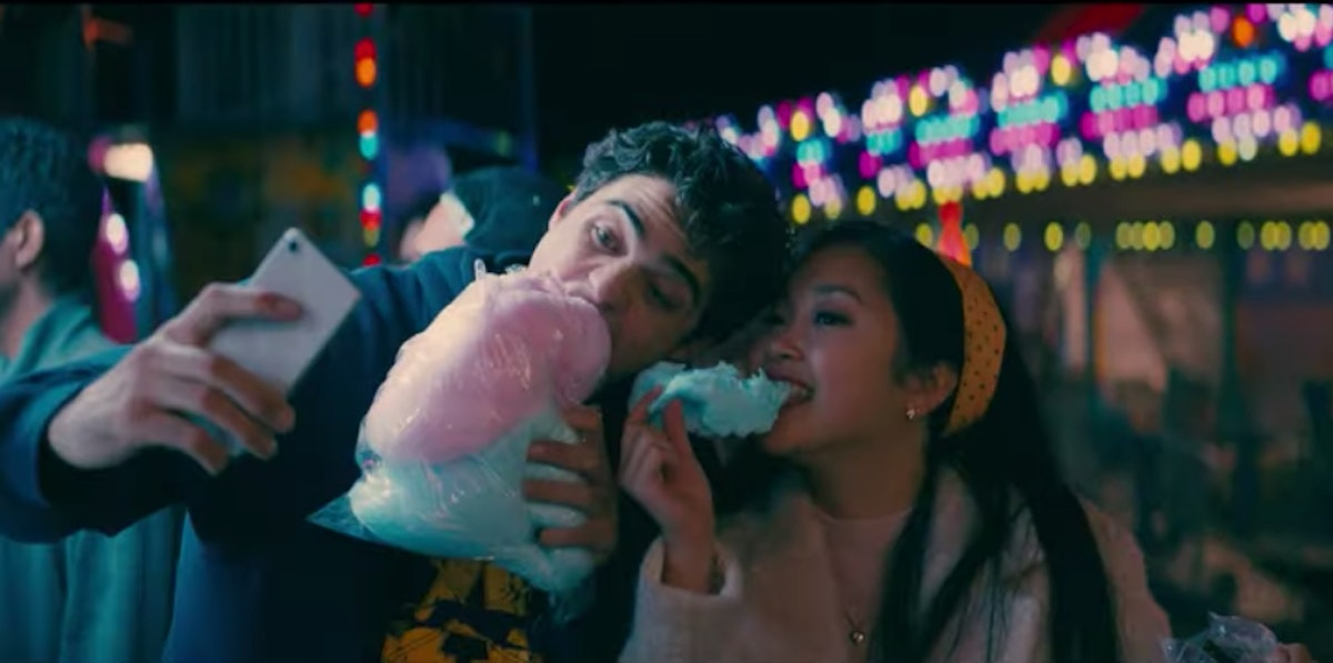 Lara Jean and Peter in the 'To All The Boys I Loved Before 2' trailer