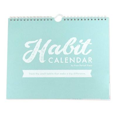 Free Period Press Habit Calendar