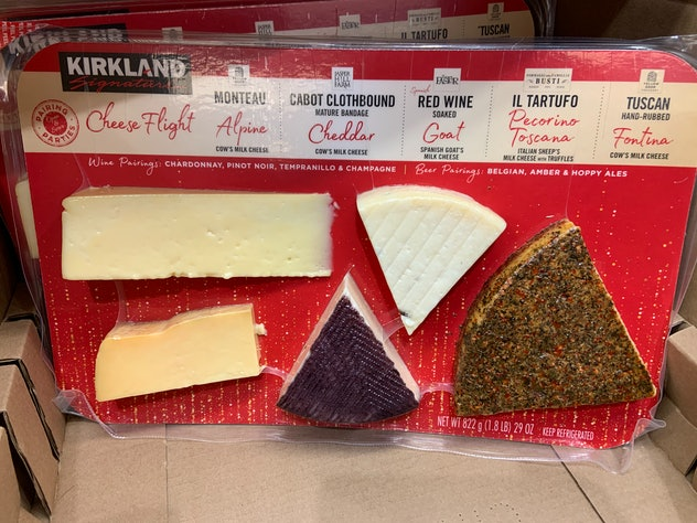 Kirkland Signature Cheese Flight