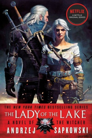 'The Lady of the Lake' cover from 'The Witcher' book series