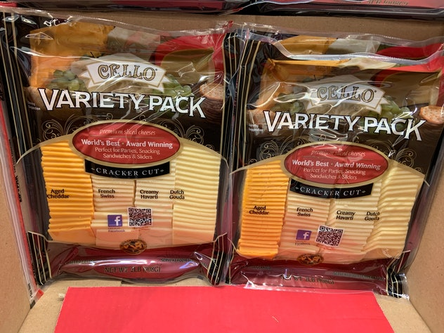 Cello Variety Pack Cheese