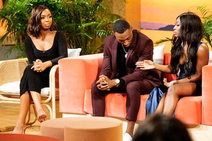 Medinah, Rick, and Ashley G. at the Temptation Island Season 2 reunion