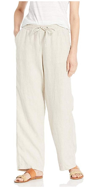 Amazon Essentials Women's Drawstring Linen Pant