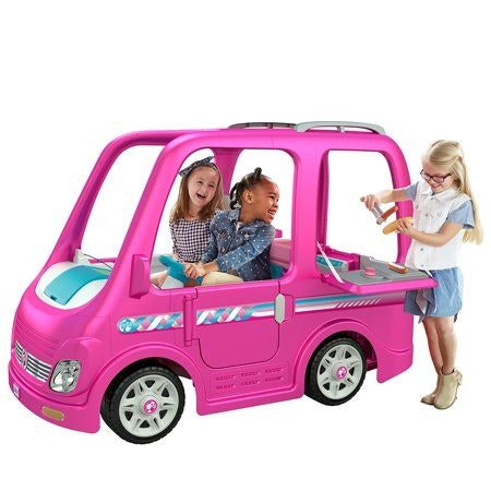Power Wheels® Barbie Dream Camper