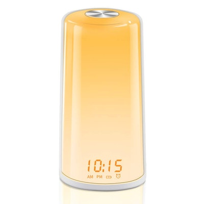 TITIROBA Wake-Up Light And Sunrise Simulation Alarm Clock