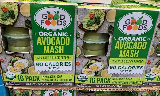 Organic Avocado Mash