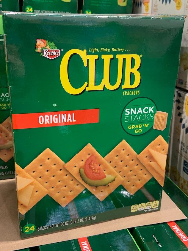 Keebler Club Snack Stacks