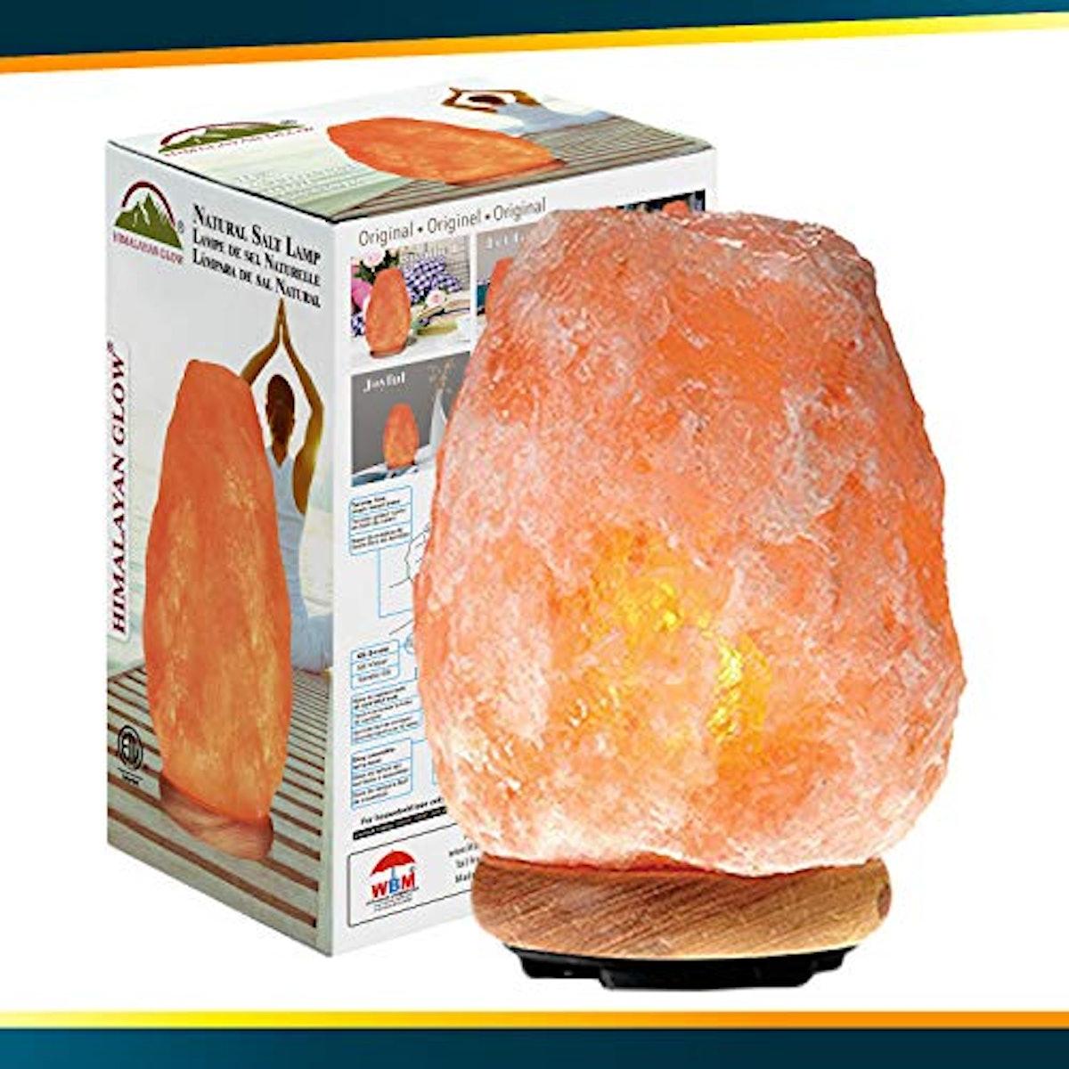 Himalayan Glow Natural Himalayan Salt Lamp