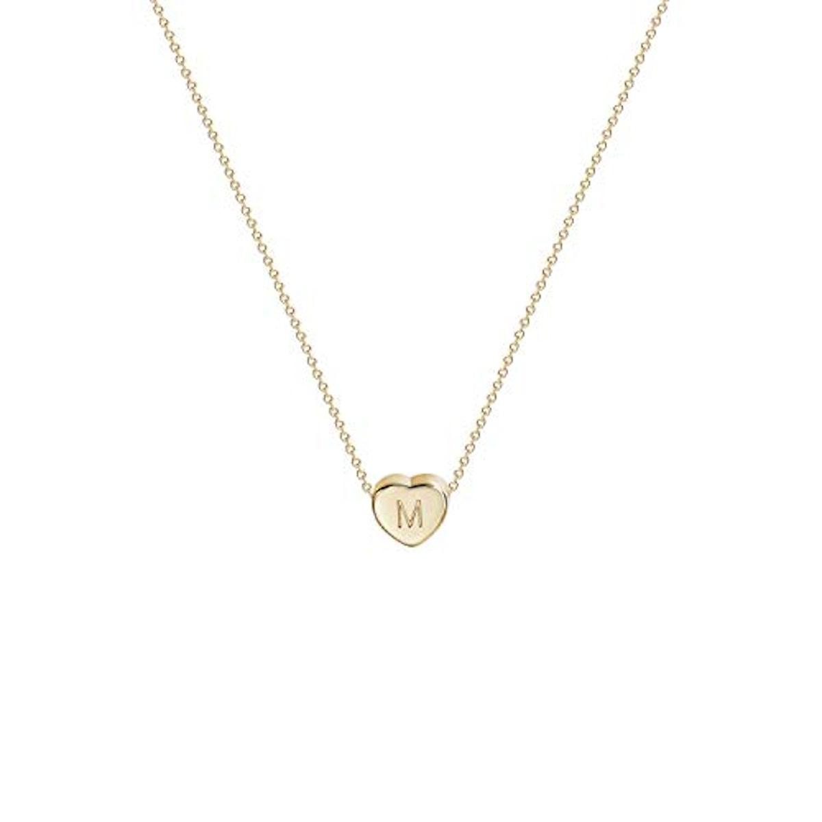Fettero Letter Necklace