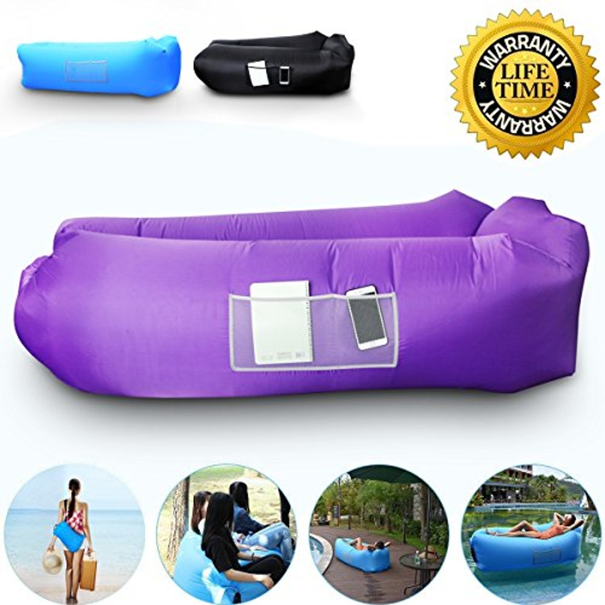 AngLink Outdoor Inflatable Lounger