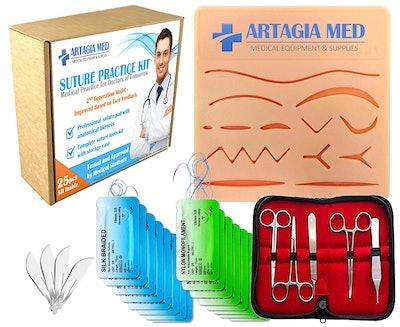 ARTAGIA Suture Practice Kit
