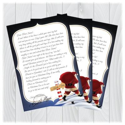 Downloadable Personalized Santa Letter
