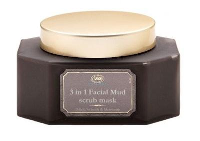 3-in-1 Facial Mud Scrub Mask