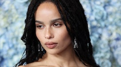 Zoë Kravitz's pixie cut looks so different than her previous style
