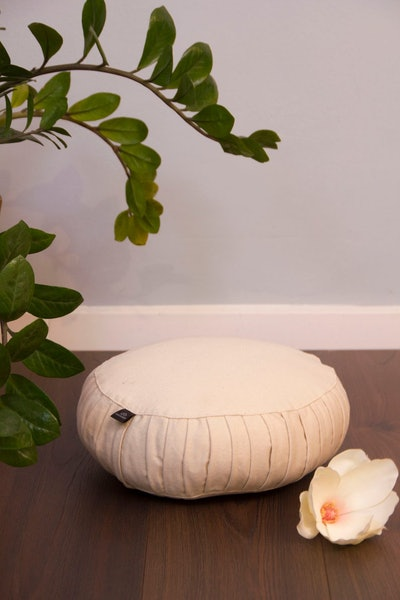 Cotton-filled Meditation Cushion