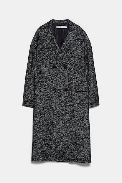 Double Breasted Buttoned Coat
