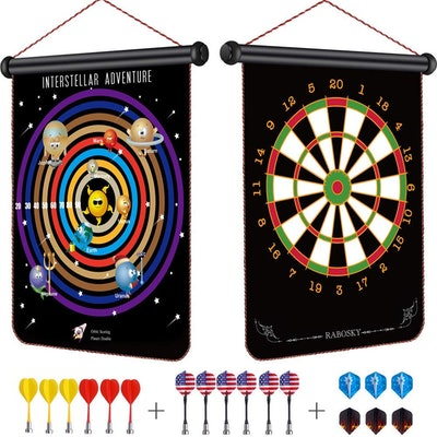 Rabosky Kids Magnetic Dart Board