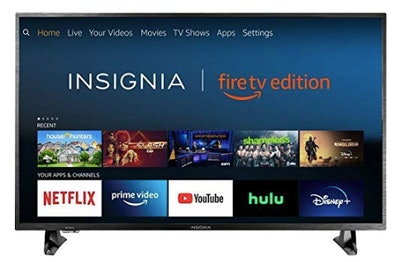 Insignia 43-inch 4K Ultra HD Smart LED TV HDR - Fire TV Edition