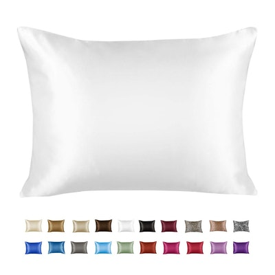 Shop Bedding Luxury Satin Pillowcase for Hair (1-Pack)