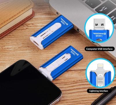 USB Flash Drive Memory Stick iPhone Backup