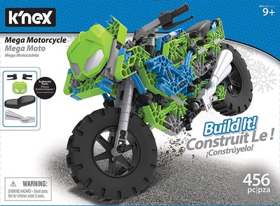 K'nex Mega Motorcycle Building Set
