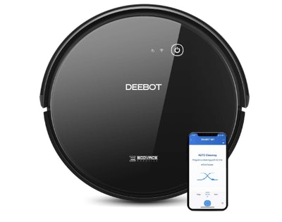 ECOVACS DEEBOT 661 Self-Charging Convertible Robotic Vacuum Cleaner And Mop