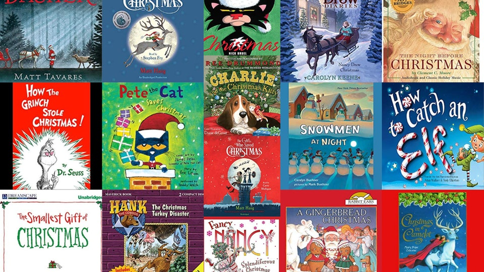 Listen to these 16 children's Christmas audiobooks with your kids this holiday season.