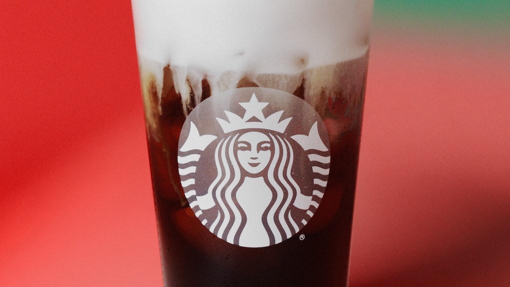Starbucks' Irish Cream Cold Brew tastes like slightly sweetened coffee with a hint of cocoa.