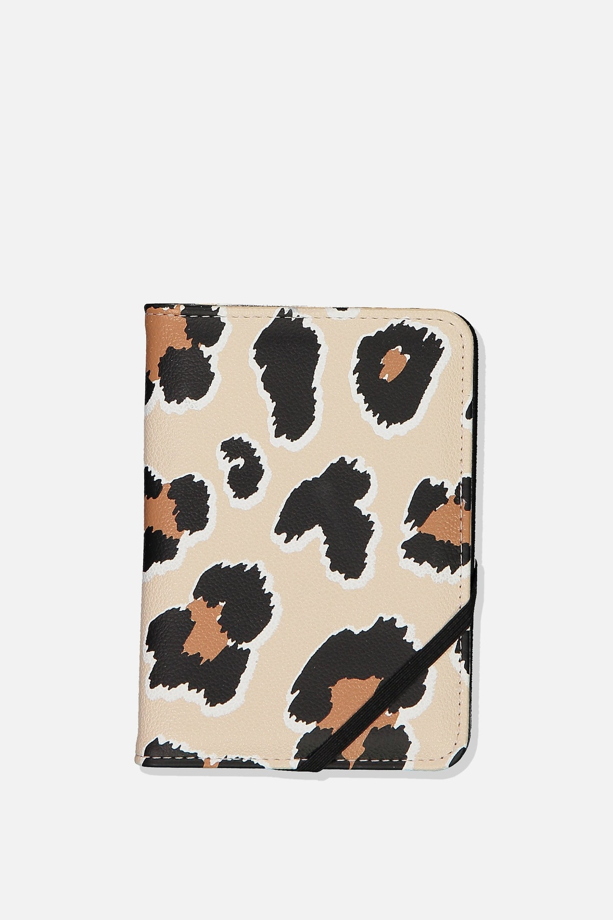 Passport Holder — Leopard Print