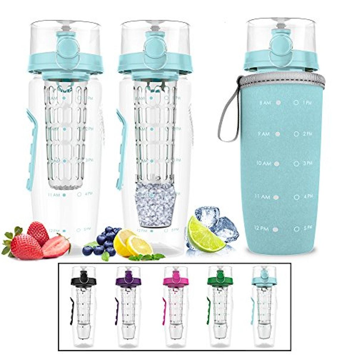 Bevgo Fruit Infuser Water Bottle