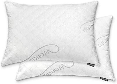 WonderSleep Premium Memory Foam Pillow (2-Pack)