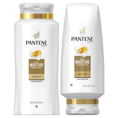 Pantene Moisturizing Shampoo And Silicone-Free Conditioner