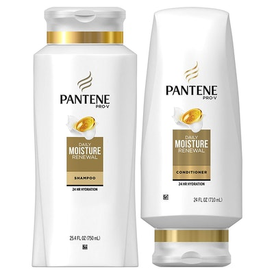 Pantene Moisturizing Shampoo And Silicone-Free Conditioner