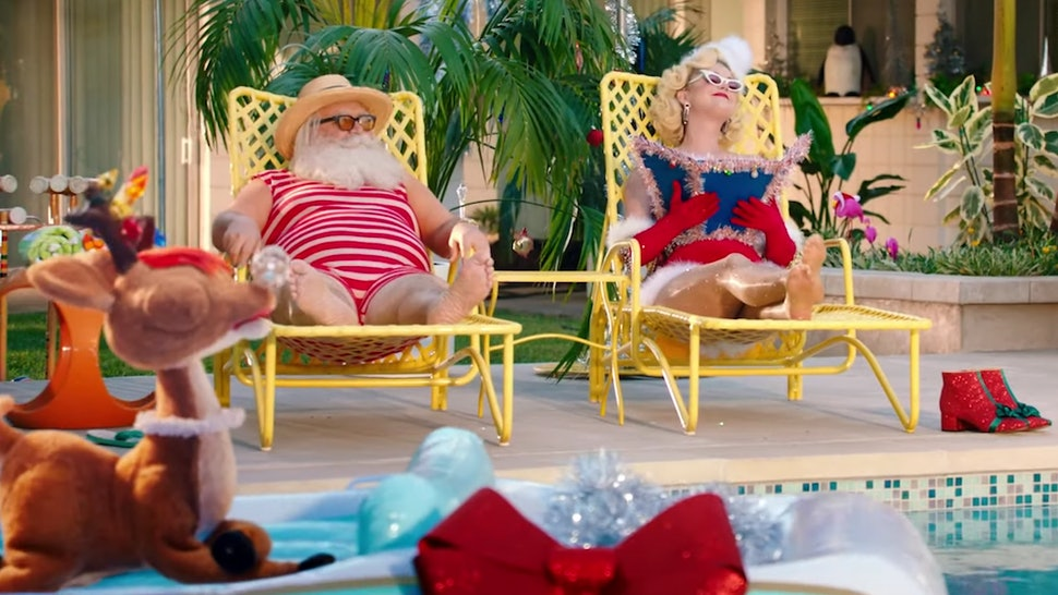 "Katy Perry's ""Cozy Little Christmas"" Is A Playful Nod To The Classics"