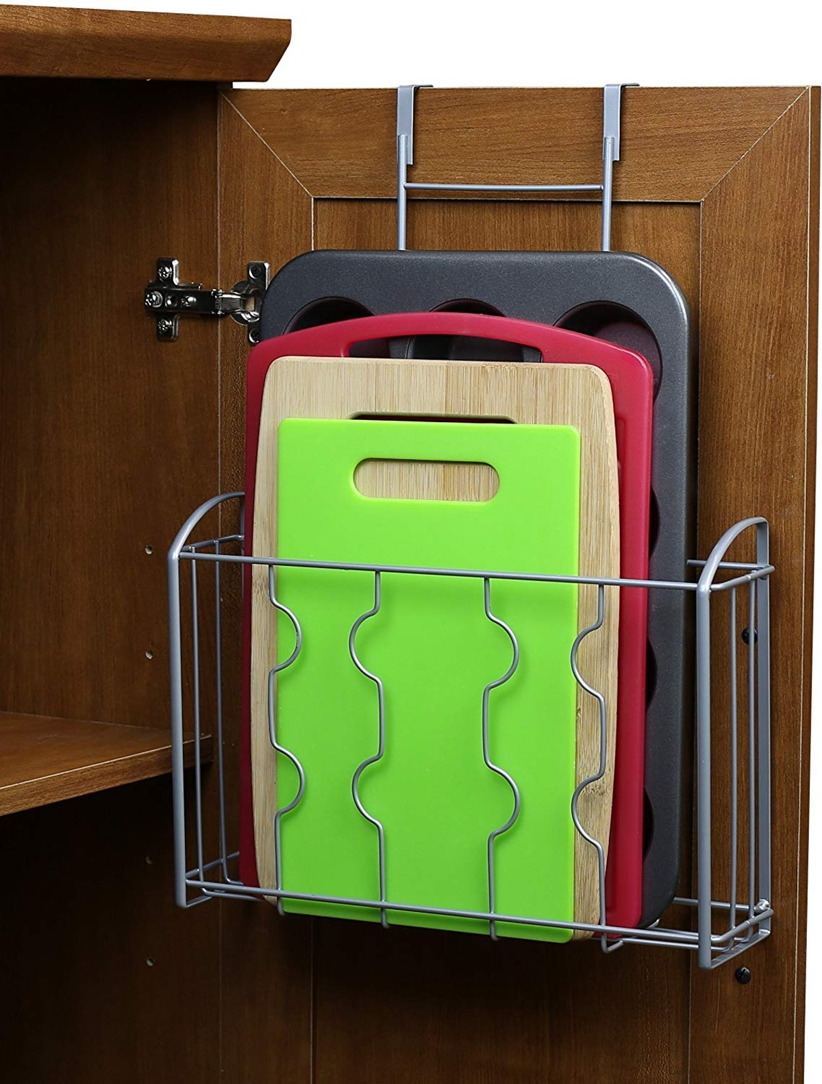 Simple Houseware Over the Cabinet Door Organizer Holder