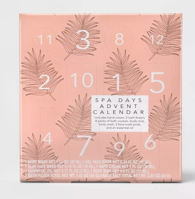 Target Beauty™ 12-Piece Spa Advent Calendar Bath Set