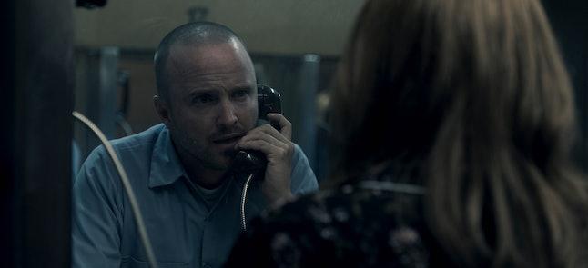 "Aaron Paul in ""Truth Be Told,"" premiering December 6 on Apple TV+."