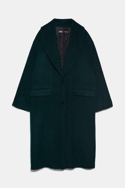 Tuxedo Collar Coat
