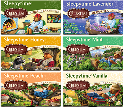 Sleepytime Wellness Variety Pack of 18 Teas