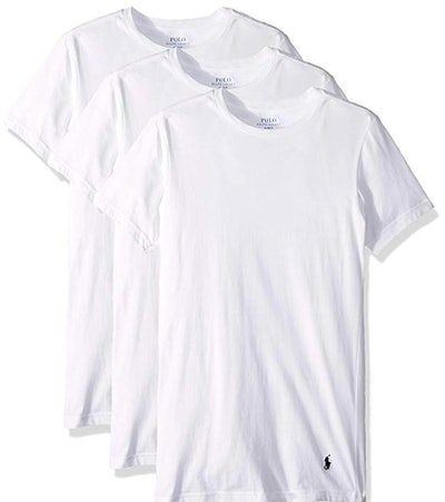 Polo Ralph Lauren Men's Slim Fit w/Wicking T Shirts (3-Pack)