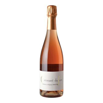 Benedicte et Stephane Tissot Cremant de Jura Extra Brut Rose