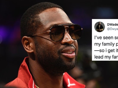 Dwayne Wade responded to critics of his son's fashion