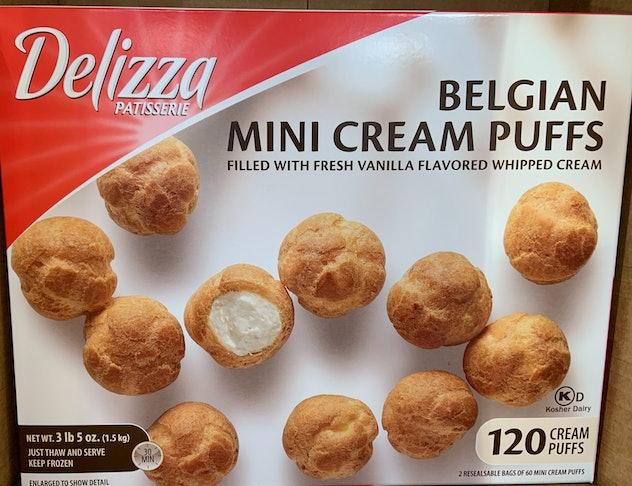 Delizza Belgian Mini Cream Puffs