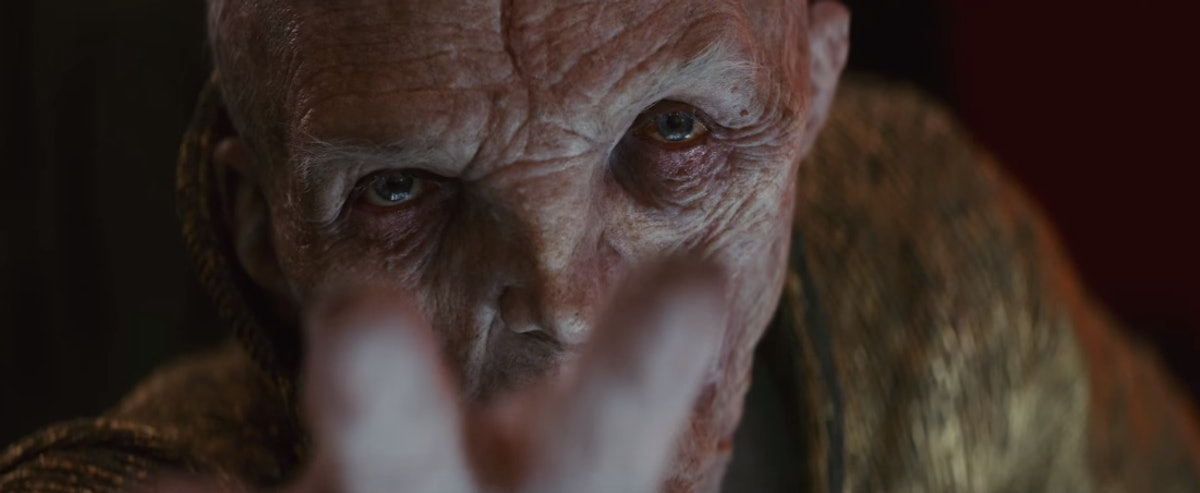 Snoke in Star Wars