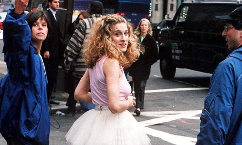 carrie bradshaw in a tutu