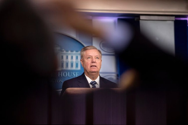 GOP Sen. Lindsey Graham has said 'I don't care what anybody else says about the phone call … The phone call, I've made up my own mind, is fine.'