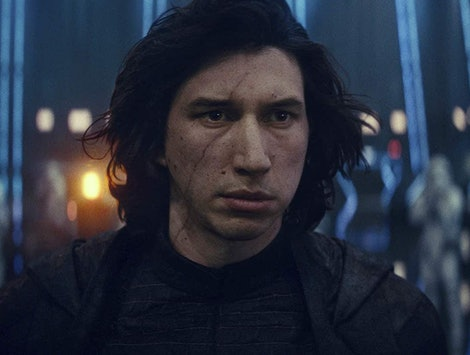 Adam Driver, Kylo Ren 'Star Wars: The Rise of Skywalker'