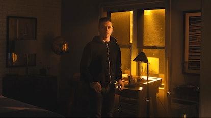 Rami Malek as Elliot in Mr. Robot