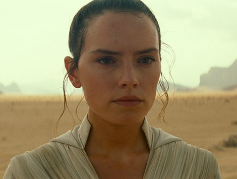 Daisy Ridley as Rey 'Star Wars: The Rise Of Skywalker'