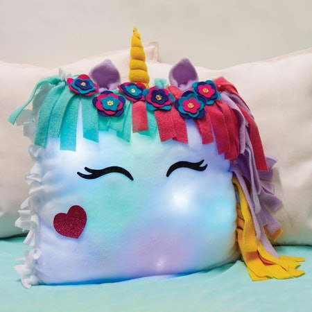 Light-Up Unicorn Pillow
